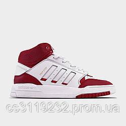 Мужские кроссовки Adidas Drop Step Red White (красный/белый)