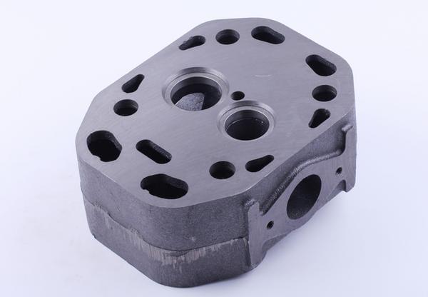 Головка цилиндра голая - ZS/ZH1100 КОД  8537