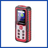 Далекомір лазерний 60 м. Intertool - кольоровий дисплей. Лазерні рулетки. Електронні рулетки.
