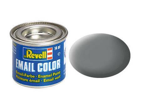 Сірий матовий. Фарба емалева, 14 мл. REVELL 32157, фото 2