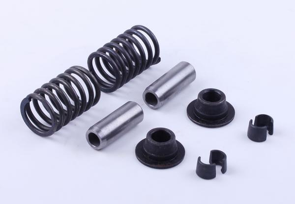 Клапанный на мотоблок механизм, к-т на 2 клапана: 10 элементов - Zubr - 195N