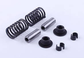 Клапанний механізм комплект (пружини, тарілки, сухарі, спрямовуючи.) на 2 кл. - 195N