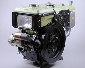 Двигатель дизельный с водяным охлаждением sh190ndl - zubr (10 л.с.) с электрозапуском КОД  3981