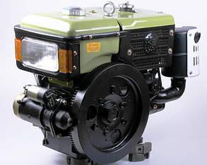 Двигатель дизельный с водяным охлаждением SH195NDL - Zubr (12 л.с.) с электрозапуском КОД  3977