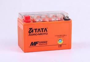 Аккумулятор гелевый, 9Аh-YTX9-BS, оранж., 150*85*105мм - OUTDO