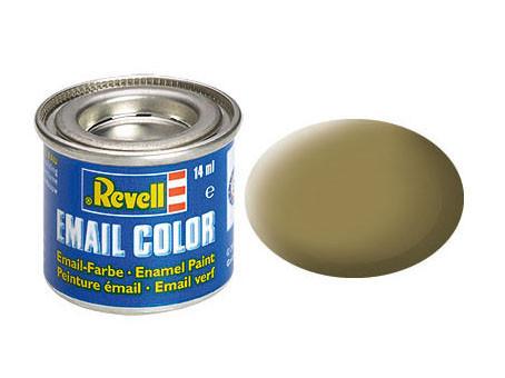 Хаки коричневый RAL7008 матовый. Краска эмалевая, 14 мл. REVELL 32186