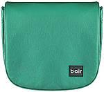 Коляска Bair Polo (Silver) кожа 29S зеленый (перламутр), фото 6