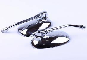 Зеркала на мотоцикл  (пара) 10mm           СВ 125/150 КОД 9495