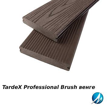 Террасная доска TARDEX PROFESSIONAL BRUSH венге