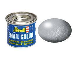 Серебристый металлик. Краска эмалевая, 14 мл. REVELL 32190