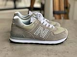Кросівки жіночі New Balance 574 Brown Нью Беланс 574 (36,37,40), фото 2