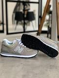 Кросівки жіночі New Balance 574 Brown Нью Беланс 574 (36,37,40), фото 7