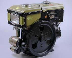 Двигатель дизельный с водяным охлаждением  R180NDL - GZ (8 л.с.) с электрозапуском