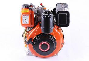 Двигатель 178F - (под шпонку Ø25 mm) (6 л.с.) КОД  3654