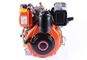 Двигун 178FE - (під шпонку Ø25 мм) (6 к. с.) з електростартером