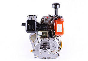 Двигатель 186F - (под шпонку Ø25 mm) (9 л.с.) КОД  3656