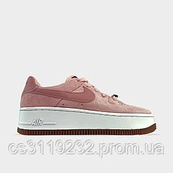 Жіночі кросівки Nike Air Force 1 Low Jester Beige PInk White (бежево-рожеві)