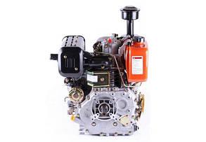 Двигун 186FE - (під шпонку Ø25 мм) (9 к. с.) з електростартером