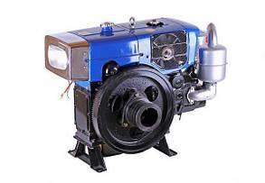 Двигатель дизельный с водяным охлаждением ZH1105N (18 л.с.) с электрозапуском КОД  7090