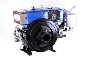 Двигатель дизельный с водяным охлаждением ZH1115N (24 л.с.) с электростартером КОД  3677