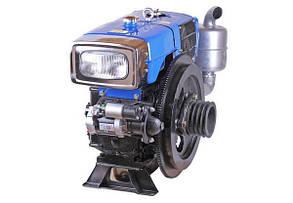 Двигатель дизельный с водяным охлаждением  ZH1125N (30 л.с.) с электрозапуском КОД  3678