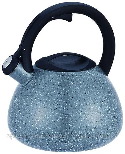 Чайник со свистком Con Brio CB-413 - 2.5 л (серый)