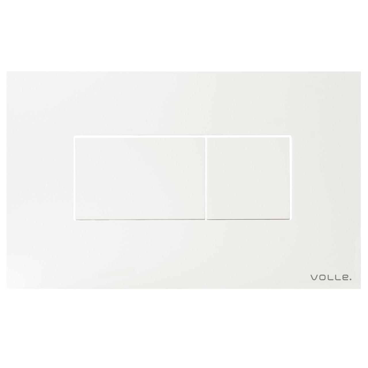 Змивна клавіша VOLLE ALTO NEO біла, пластик