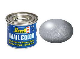 Сталь металлик. Краска эмалевая, 14 мл. REVELL 32191