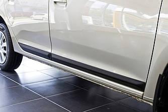 Молдинги дверей Renault Logan (2013-2017)