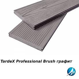 Террасная доска TARDEX PROFESSIONAL BRUSH графит
