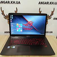 "Игровой ноутбук 17.3"" Asus Rog GL752VW (Core i7-6700HQ / DDR4-16Gb / SSD+HDD / FullHD / HDMI / GTX 960M)"