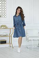 """Платье  для милых дам """"Джинс""""  Dress Code, фото 1"""