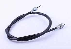 Трос спідометра L-970mm (верх квадрат - внутрішня різьба, низ квадрат - під болт) - Suzuki