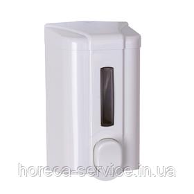 Диспенсер Дозатор жидкого мыла Solaris Белый 0,5 л.
