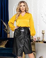 "Блузка для пышных дам ""Шелк""  Dress Code, фото 1"