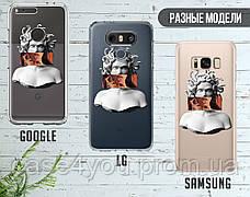 Силиконовый чехол Ренесанс Меган Фокс (Megan Fox Renaissance) для Samsung G965 Galaxy S9 Plus , фото 3