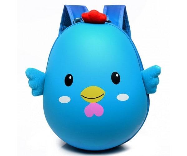 Дитячий каркасний рюкзак «Курча» блакитний 10977-1