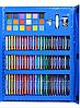Набір для дитячої творчості у валізі з 208 пр. Синій   Набір для малювання Валізку юного художника, фото 6