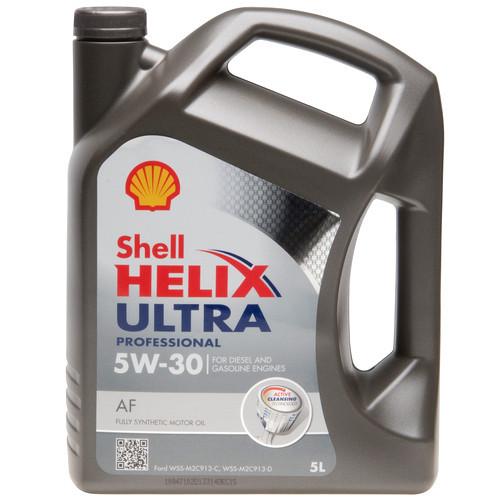 Моторное масло  Shell Helix Ultra Professional AF 5W-30 5л