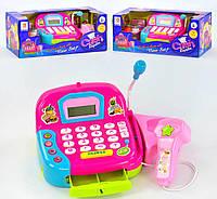 Кассовый аппарат LF 1018 B,свет,звук,калькулятор,микрофон,дитяча каса,детская касса