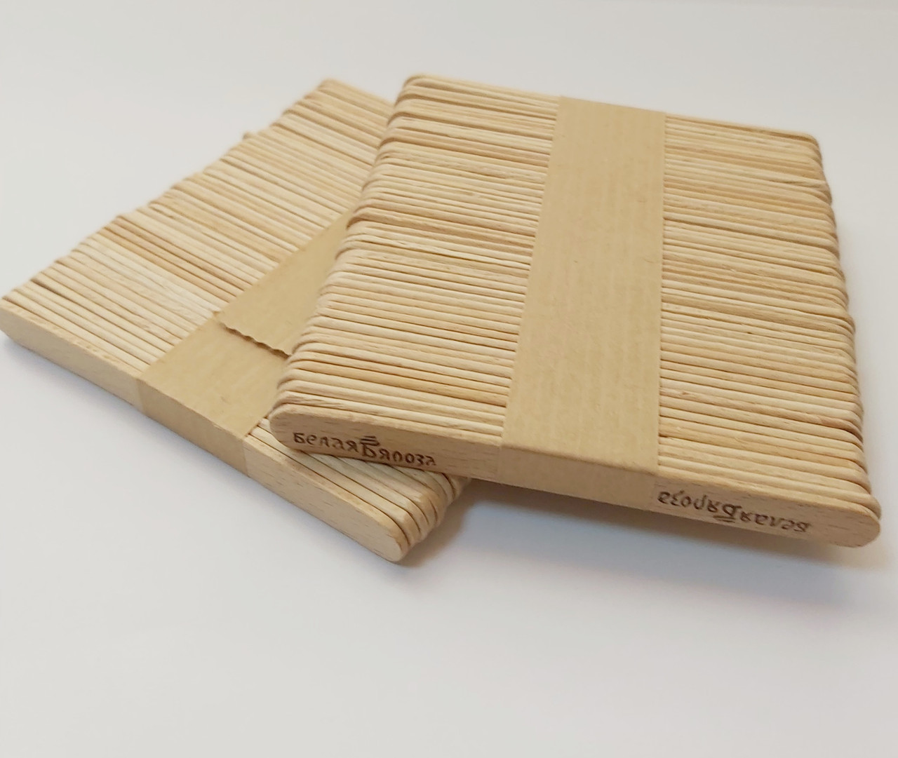 Дерев'яні палички для морозива 94*10*2 мм 50 шт.
