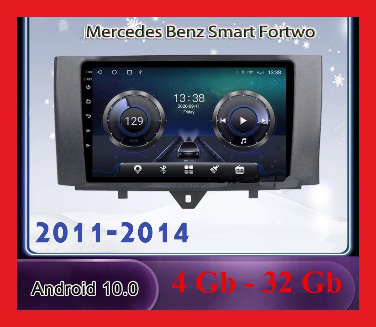 """Автомагнитола штатная  Mercedes  BENZ 2011-2014+ CANBUS 10 """" Android 10.1 Память 4/32 Гб"""