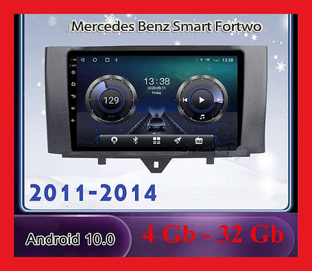 "Автомагнитола штатная  Mercedes  BENZ 2011-2014+ CANBUS 10 "" Android 10.1 Память 4/32 Гб, фото 2"