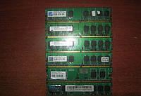 Оперативная Память DDR2 на 1GB PC 6400 800 Mhz ЛЮБЫХ ПРОИЗВОДИТЕЛЕЙ Б/У память ОЗУ ( Модуль Памяти ddr 2 1 Gb)