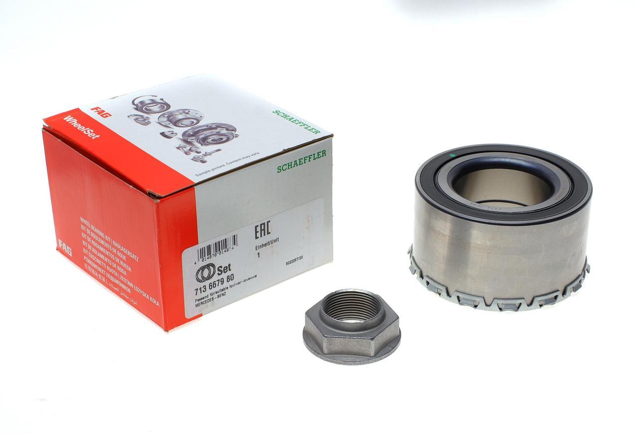 Подшипник ступицы задний ( комплект) Mersedes Vito 639 2003-2010 оригинал FAG (Германия) 713667980