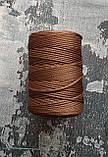 Шнур поліефірний 2мм Коричневий, фото 2