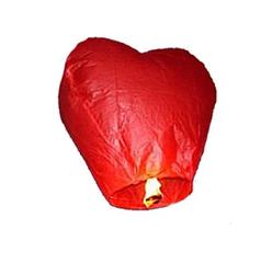 Небесный фонарик Сердце 150 см