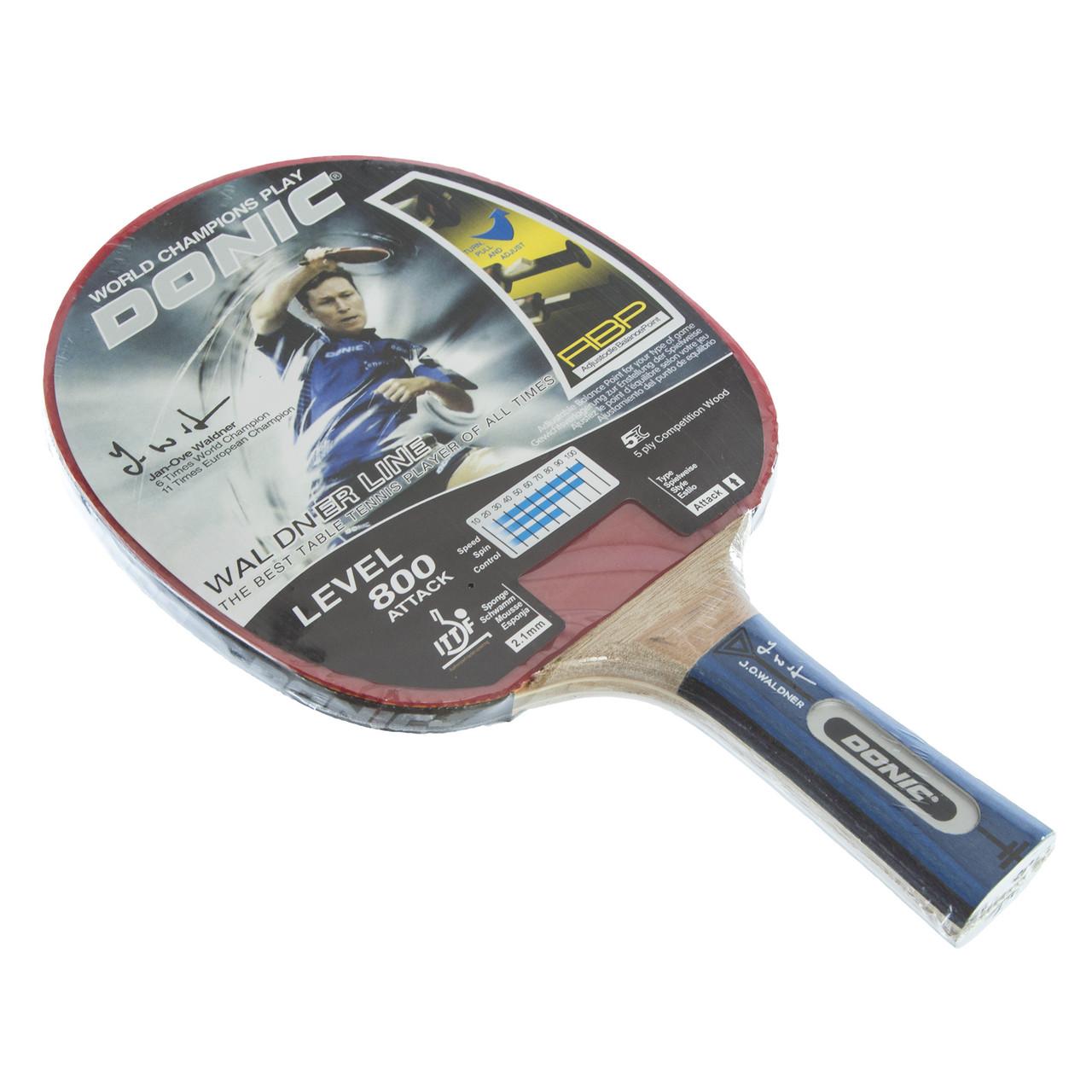Ракетка для настольного тенниса 1 штука DNC МТ-800 754881 WALDNER LINE 800 (древесина, резина)