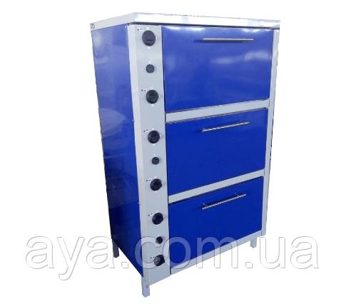Шафа жарова електрична трисекційний з плавним регулюванням потужності ШЖЭ-3-GN1/1 стандарт