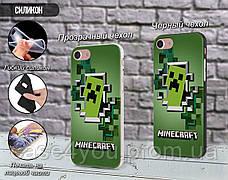 Силиконовый чехол Майнкрафт (Minecraft) для Samsung G988 Galaxy S20 Ultra , фото 2